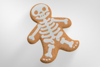 3d gingerbread man halloween