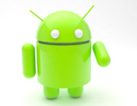 3d model android icon