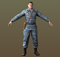 3d max asset soldier