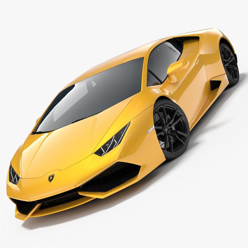 2017 Lamborghini Huracan Interior: Lamborghini Huracan 2015 3d Max