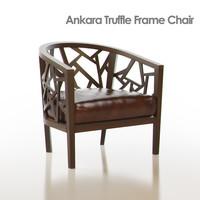ankara truffle frame chair obj