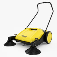sweeper karcher km 70 3d max