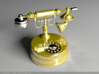 antique telephone max free