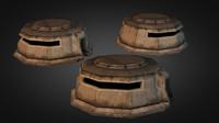 bunker enviroments 3d max