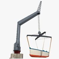 jib crane boat model