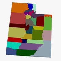 counties utah 3ds