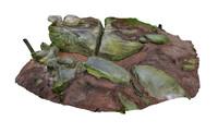 maya stone boulders nature