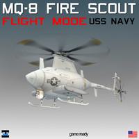 northrop mq-8 scout translucent max