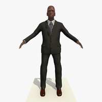 3ds old african male man