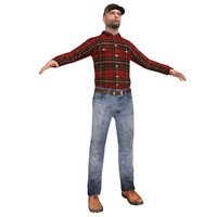 3ds max farm worker