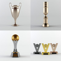 Trophy Cup - Award Set