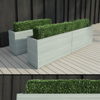 3d lengthened bushes model