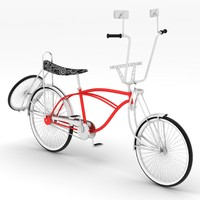 3ds max lowrider bike