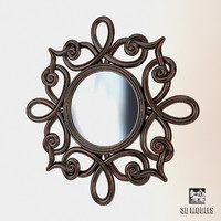 bizzotto mirror frame 3d 3ds