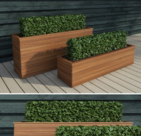 lengthened bushes 2 3d model