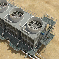 air roof unit 3d max