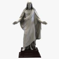 maya jesus statue