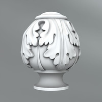 3ds max classical decoration