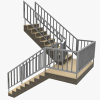 staircase 3d ma