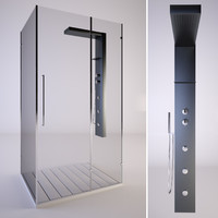 3d shower samo zenith model