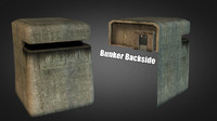 bunker enviroments omaha 3d model