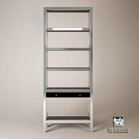 3d model cabinet montreal eichholtz