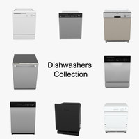 3ds max realistic dishwasher
