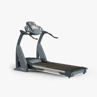 reebok treadmill 3d model