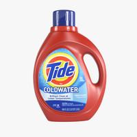 tide detergent 3d max