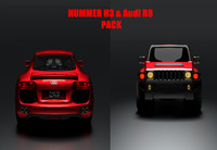 audi r8 cars 3d model
