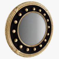 3d wall mirror model