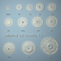 peterhof set rosette 12