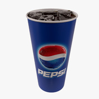 Paper Cup With Ice