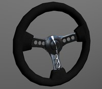 Steering wheel - retro - sport