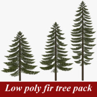 3d 3ds pack fir tree