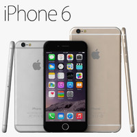 3d apple iphone 6 iphone6