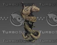 Snake statuette