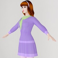 max girl daphne blake scooby-doo
