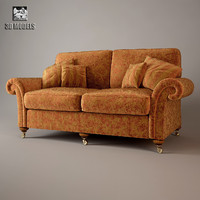 duresta belvedere sofa 3d model