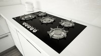 3d miele cooktop model