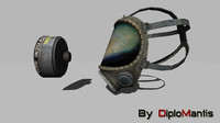 3ds max gas mask