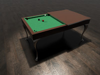 Modern Billiard table
