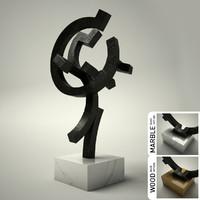 sculpture 33 3d model