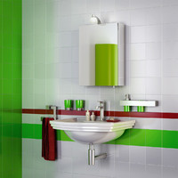 3d max bathroom interior