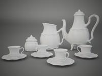 3d china tea model