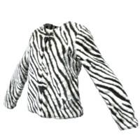 zebra jacket 3d obj