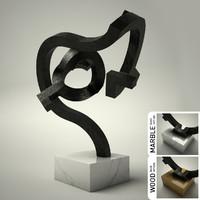 3d sculpture 36 model