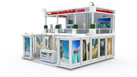 3d model master tatil exhibition design