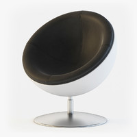 3d model design boule sphera chair