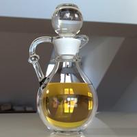 3d syrup jar